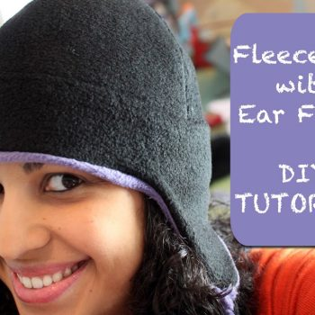 Fleece Hat with Ear Flaps- PDF pattern