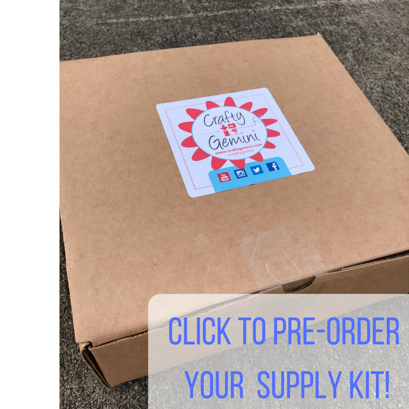 machine embroidery supply kit