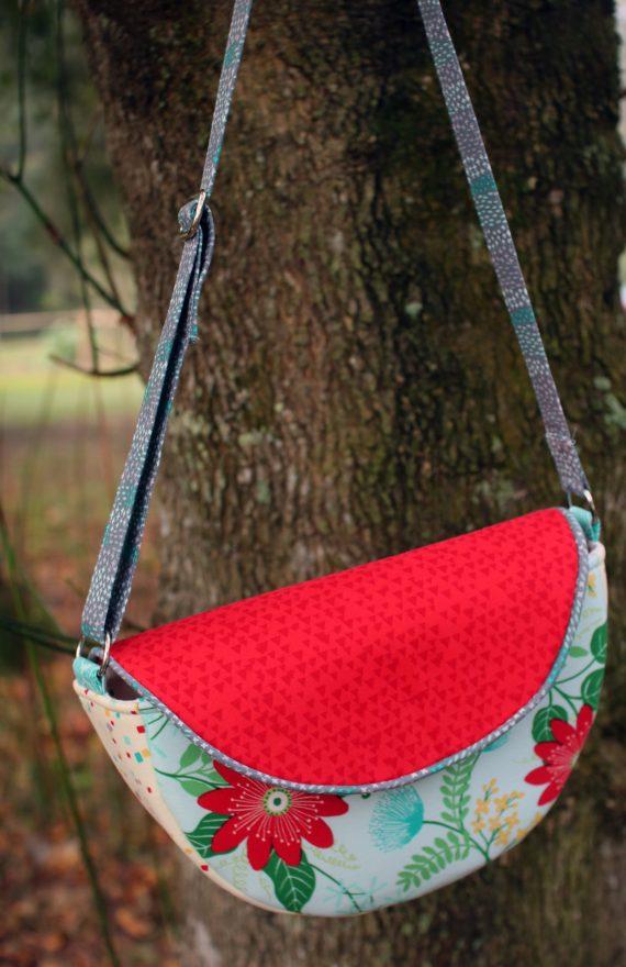 Gracie Saddle Bag by crafty gemini handbag tutorial