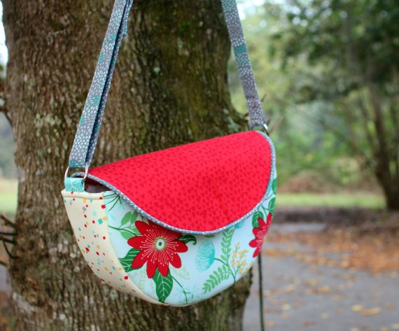 Gracie saddle bag by crafty gemini