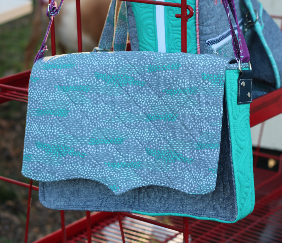 adrianne messenger bag by crafty gemini