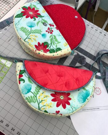 grace saddle bag video tutorial and free pdf pattern by crafty gemini