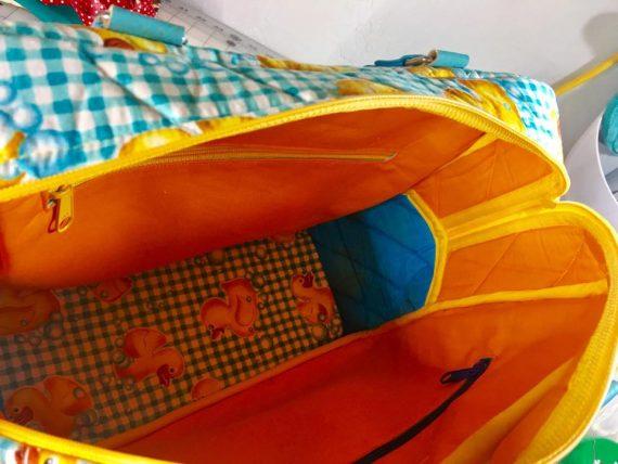 Inside Duck Mercedes Satchel