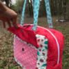 mercedes satchel bag by crafty gemini