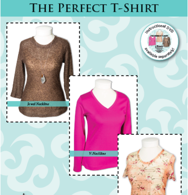 The Perfect T-shirt pattern by Pamela's Patterns