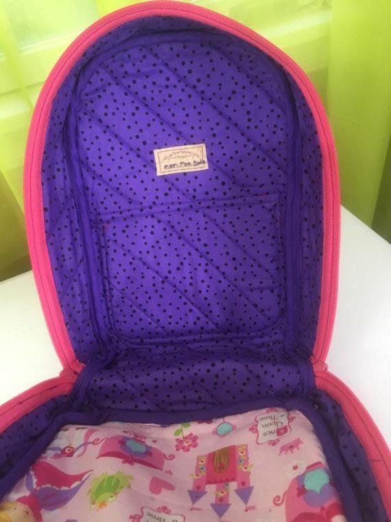 Inside Princess Allie Backpack