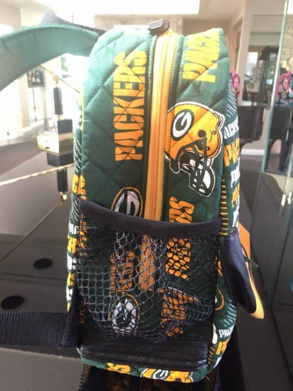 Packers Allie Backpack Mesh Pocket