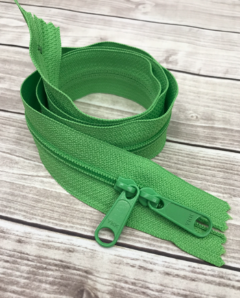 spring green zipper 30""