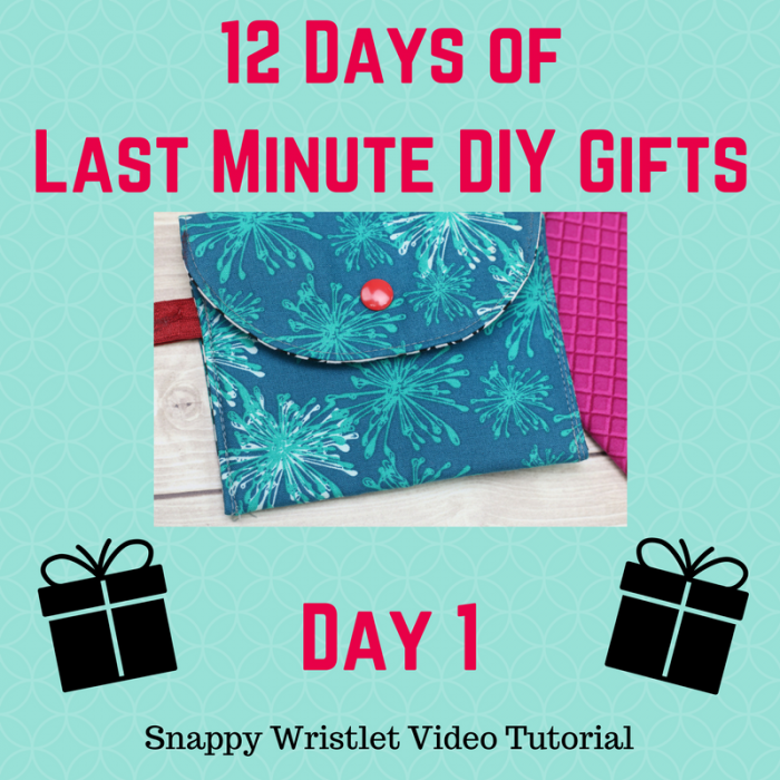 snappy wristlet by crafty gemini