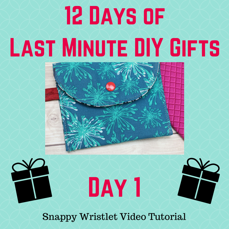 12 Days Of Last Minute Diy Gifts Free Video Tutorials Crafty Gemini