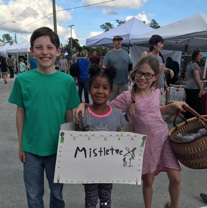 kids at GLAM 2017 craftygemini