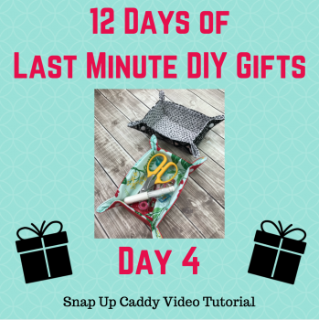 snap up caddy video tutorial with crafty gemini