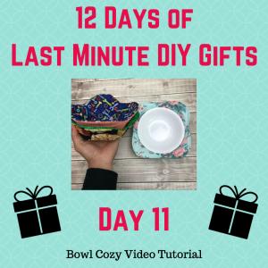 soup bowl cozy tutorial crafty gemini