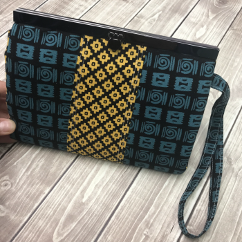 prima diva wallet clutch class by crafty gemini