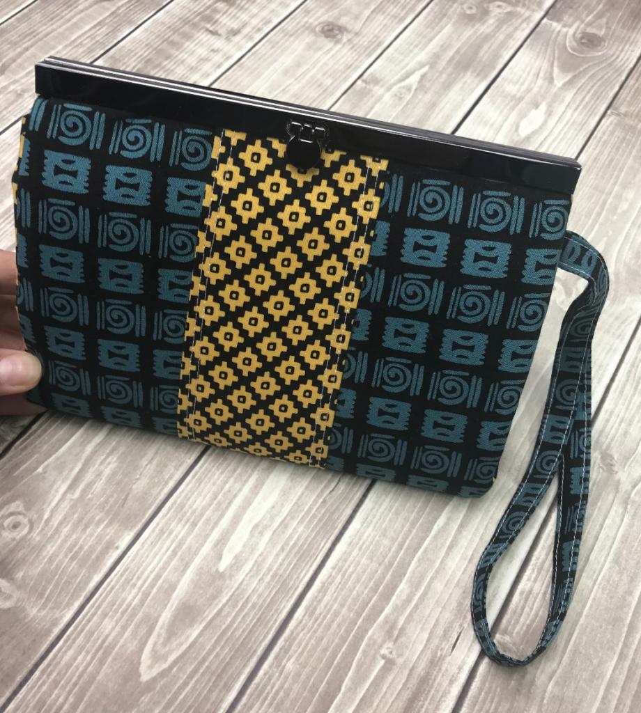 prima diva wallet clutch class by crafty gemini