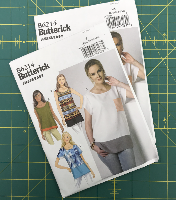 butterick 6214 sewing pattern