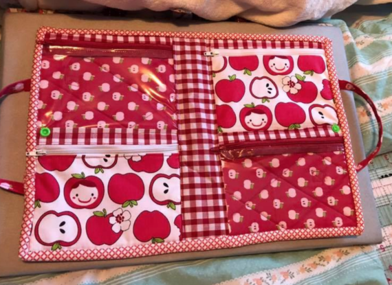 4zip-organizer pdf pattern by crafty gemini