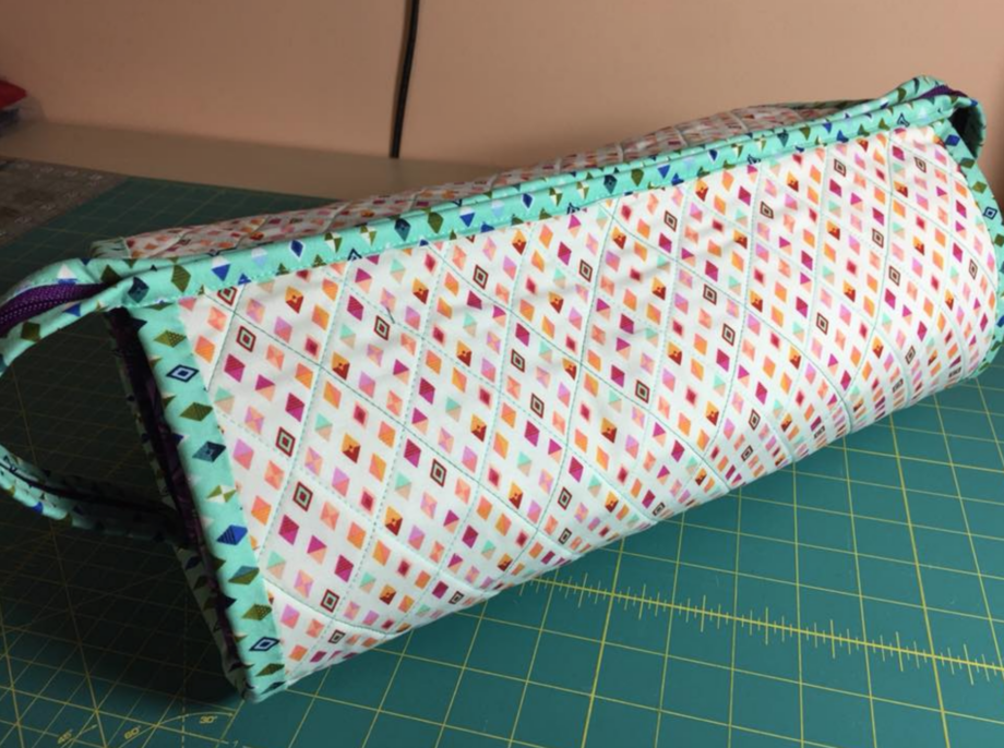 all rolled up tote pattern by Tammy Murphy of Color Me Quilted