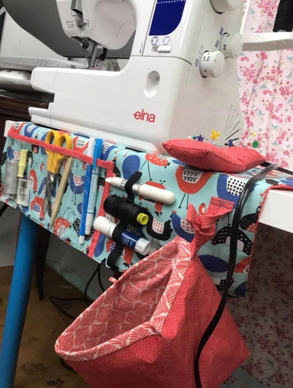 Sewing Machine Table Mat Amp Organizer Pdf Amp Video Course