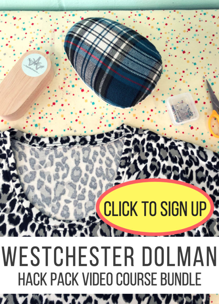 westchester dolman top hack pack video course bundle