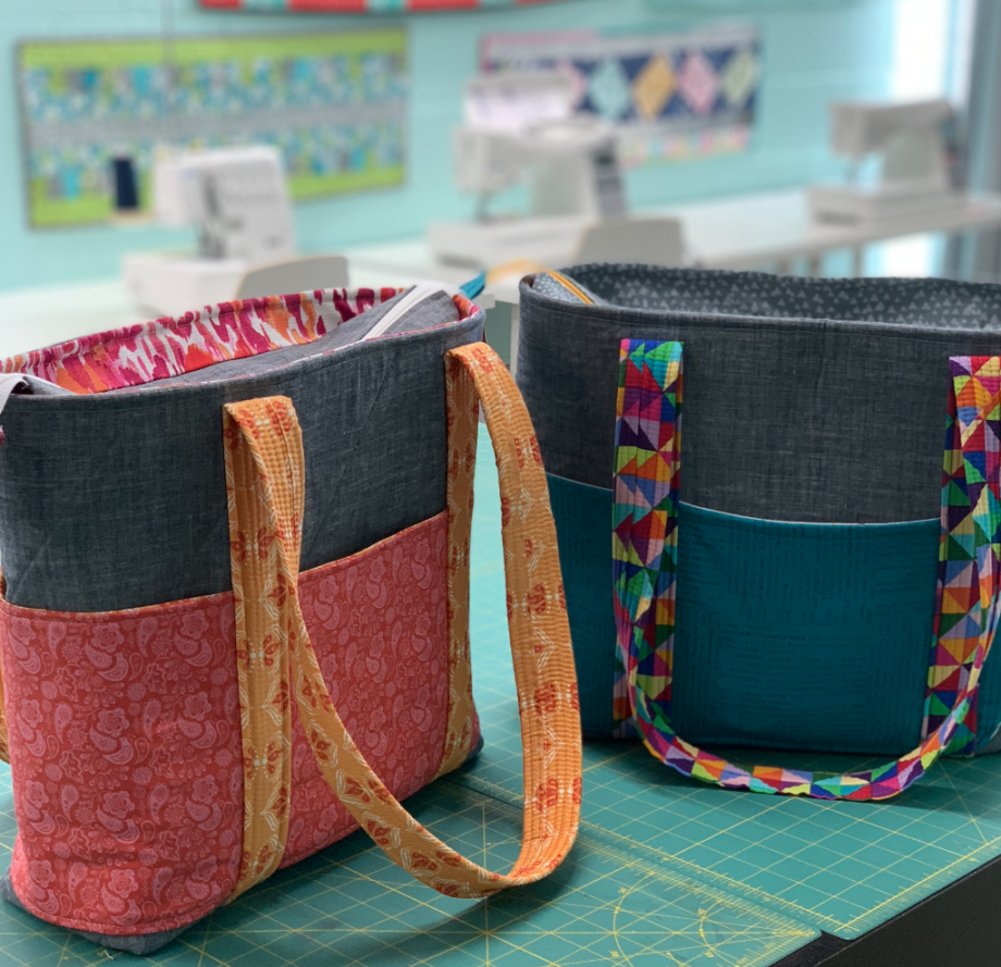 everyday tote by crafty gemini
