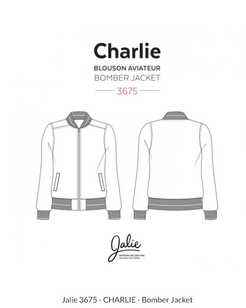 jalie 3675 charlie bomber jacket