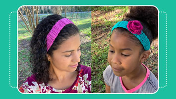 crochet headband tutorial crafty gemini