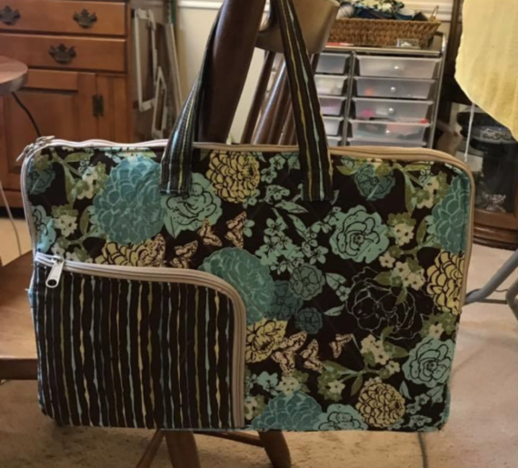 techy tote online video course and pattern by crafty gemini