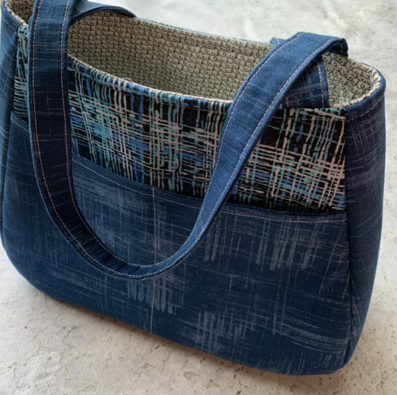 ethel tote bag video class by crafty gemini