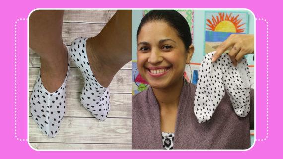 no show slip socks fgree pdf pattern by crafty gemini