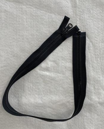 reversible jacket zipper