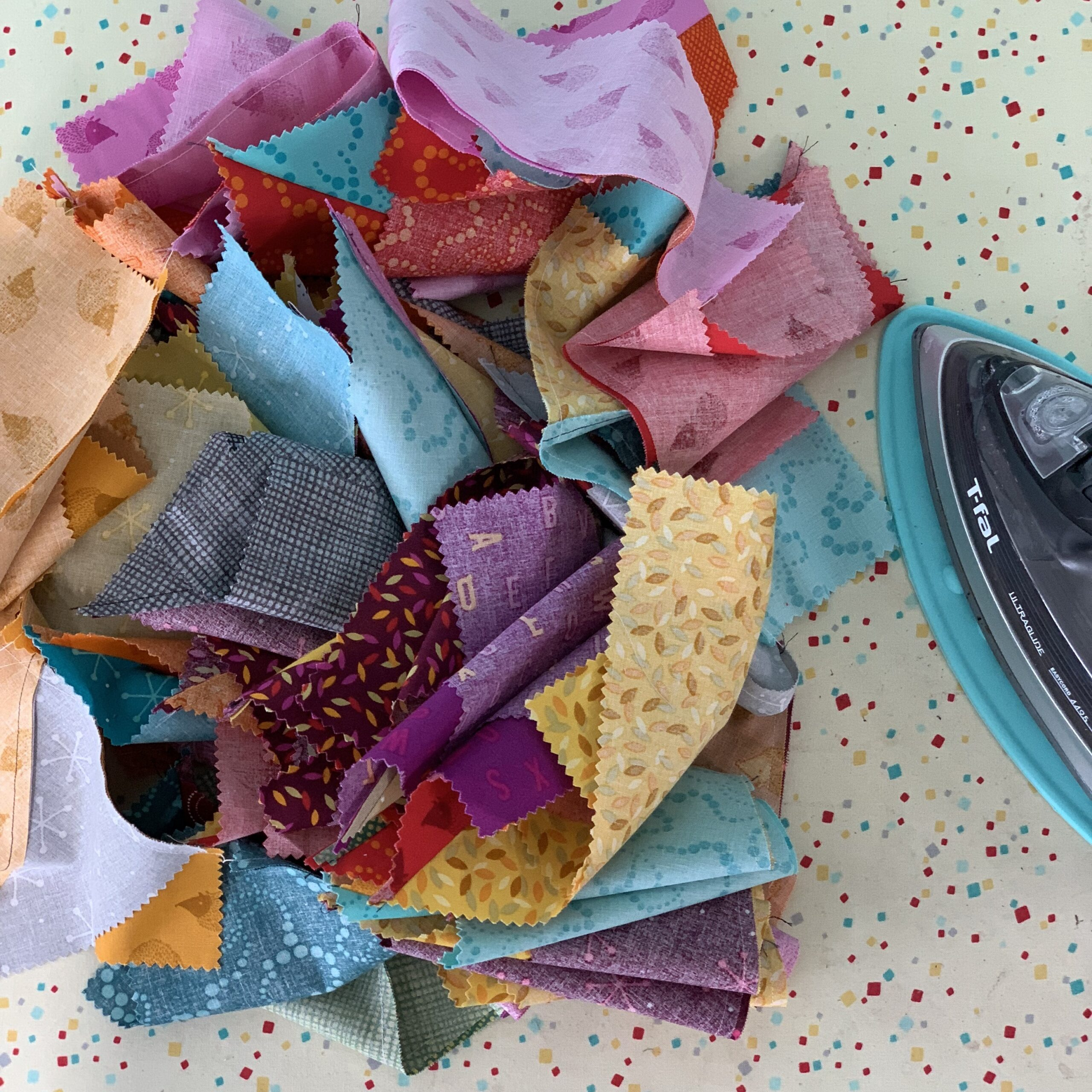"""samosa quilt along with crafty gemini and 10"""" slicer"""