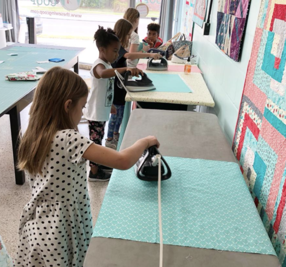 sewing kids classes at crafty gemini shop & studio