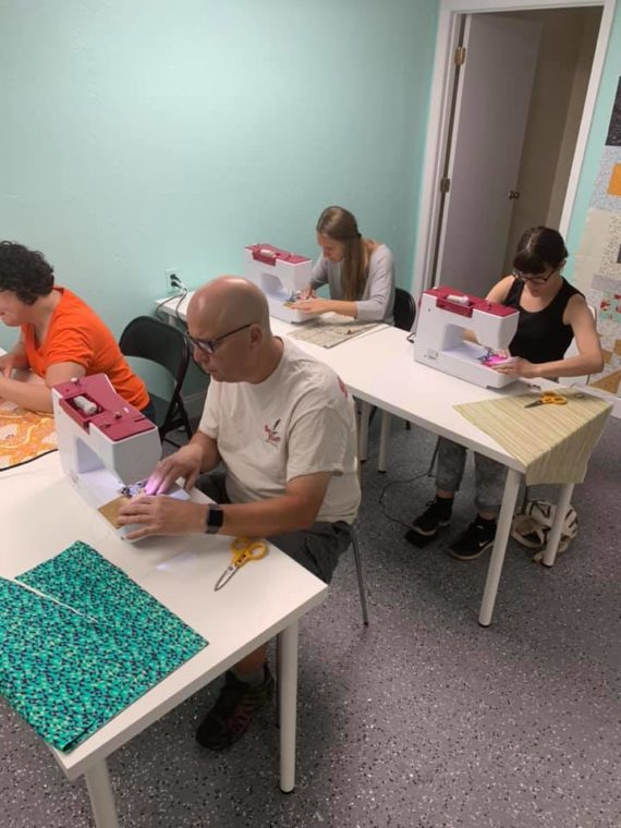 sewing class with crafty gemini in gainesville florida