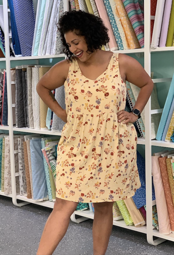 jalie michelle 3911 tank top and dress sewing pattern online class with crafty gemini
