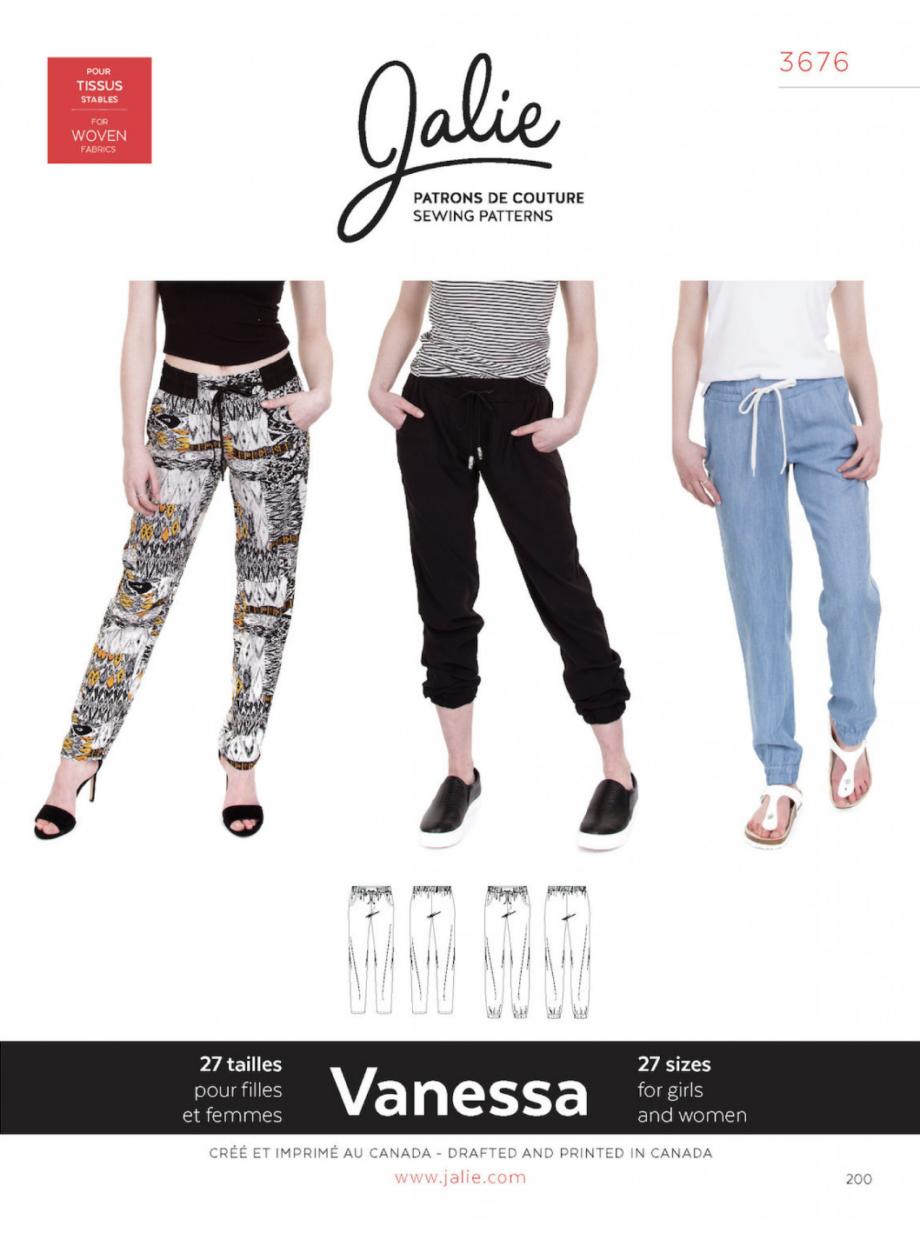jalie 3676 vanessa fluid pants sewing pattern