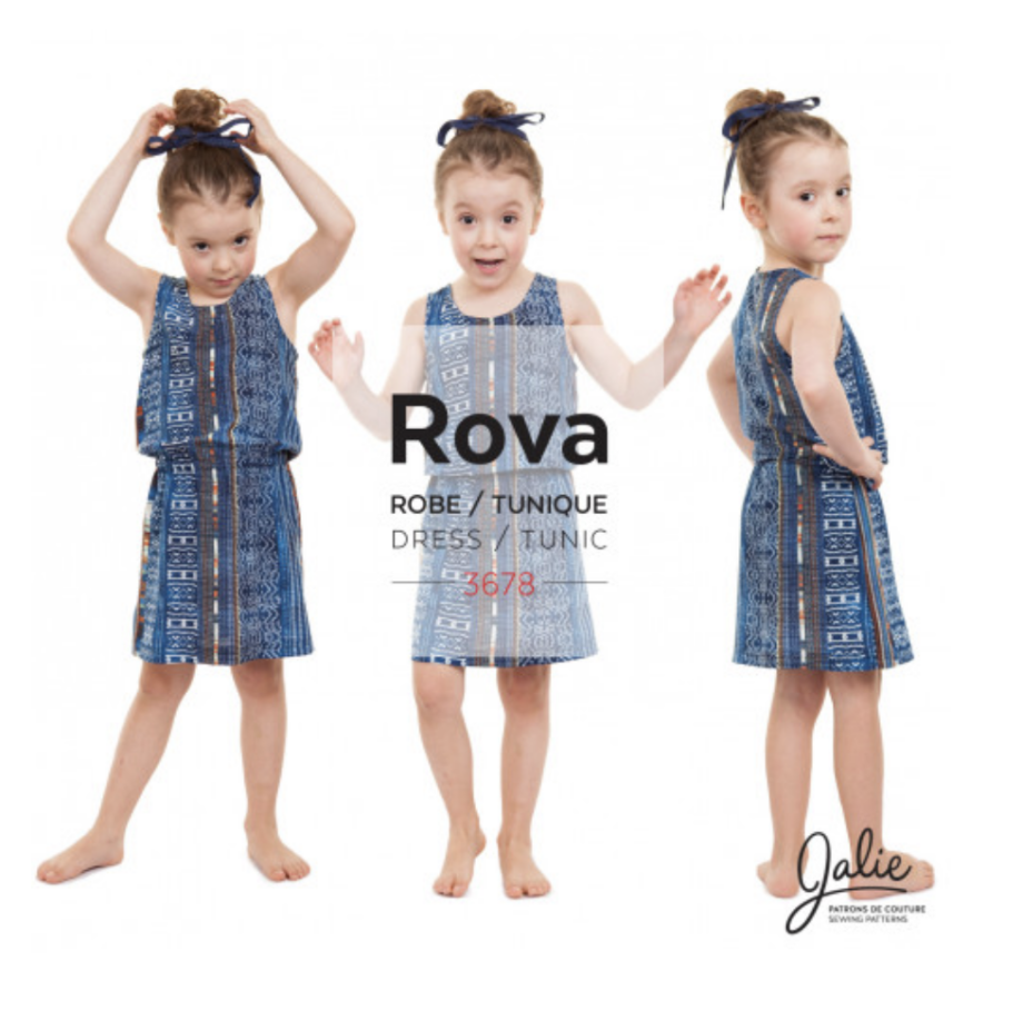 jalie 3678 ROVA Blouson Tank Dress and Tunic