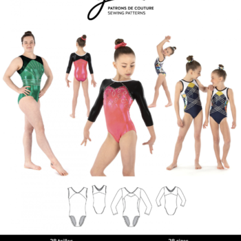 jalie 3901 KATE Gymnastics Leotards
