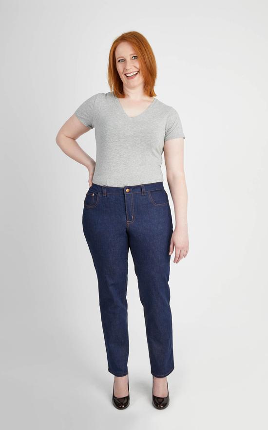 cashmerette ames jeans sewing patter
