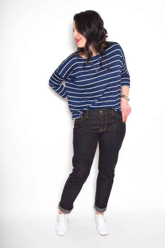 Closet case patterns morgan boyfriend jeans sewing pattern