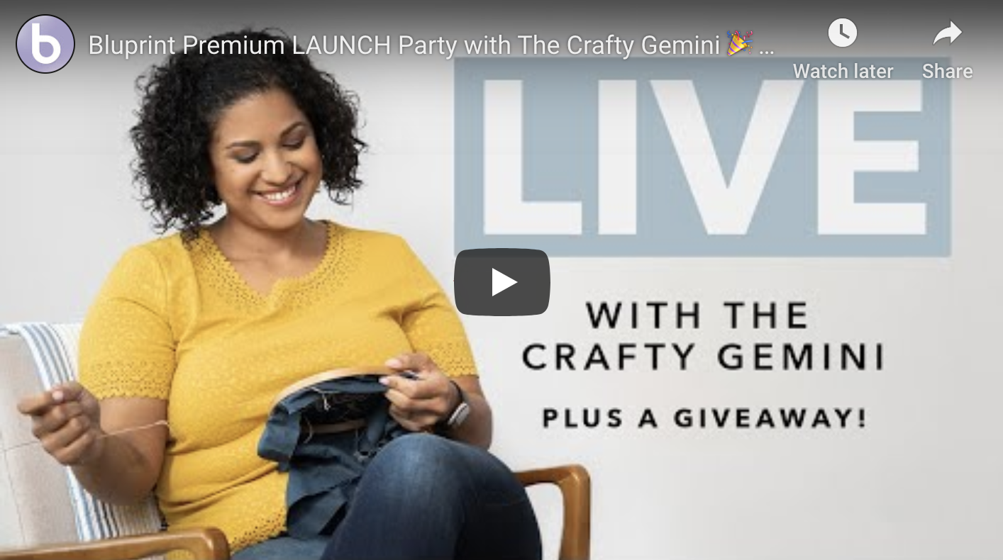 live unboxing of bluprint premium with crafty gemini