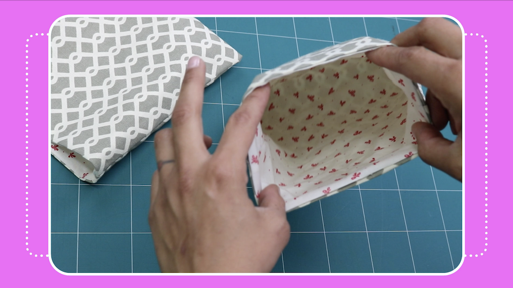 how to fix a baggy bag lining tutorial by crafty gemini