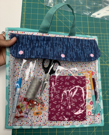 duo project bag by crafty gemini