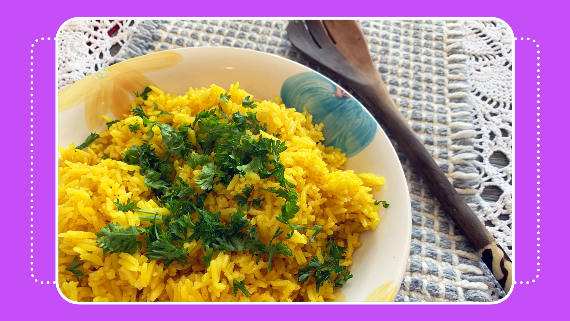 cooking turmeric rice recipe with crafty gemini easy fast
