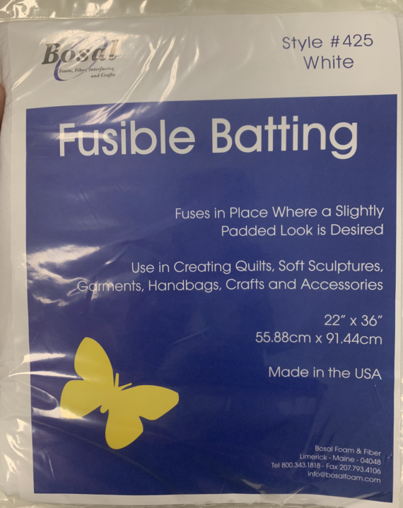 bosal fusible batting