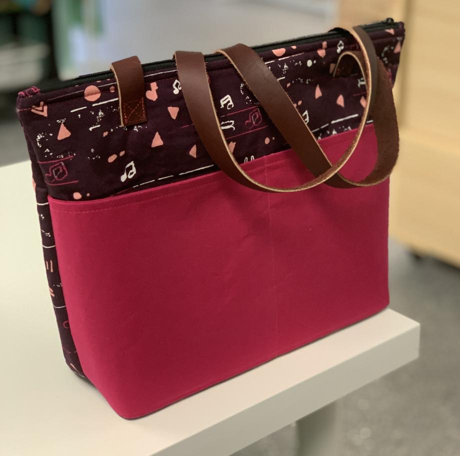crafty gemini essentials tote bag
