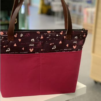 crafty gemini essentials tote bag