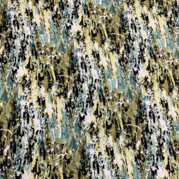 abstract splatter dbp fabric