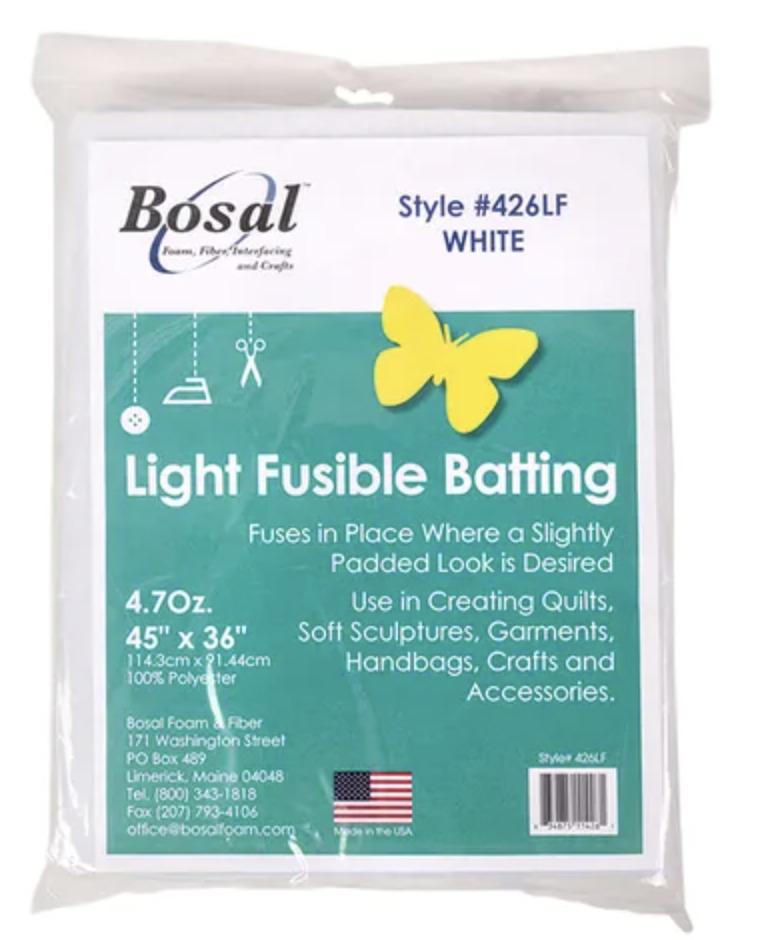 bosal light fusible batting sale
