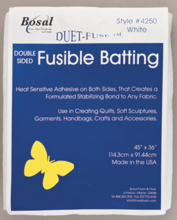 duet fuse fusible batting by bosal